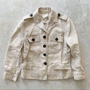 🌾 VINTAGE CELINE Linen Jacket Coat Blazer size S